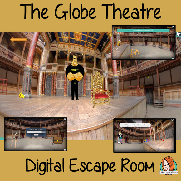 Shakespeare's Globe Theatre Escape Room