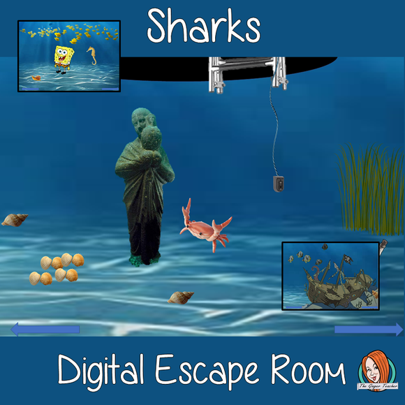 Sharks Science Escape Room