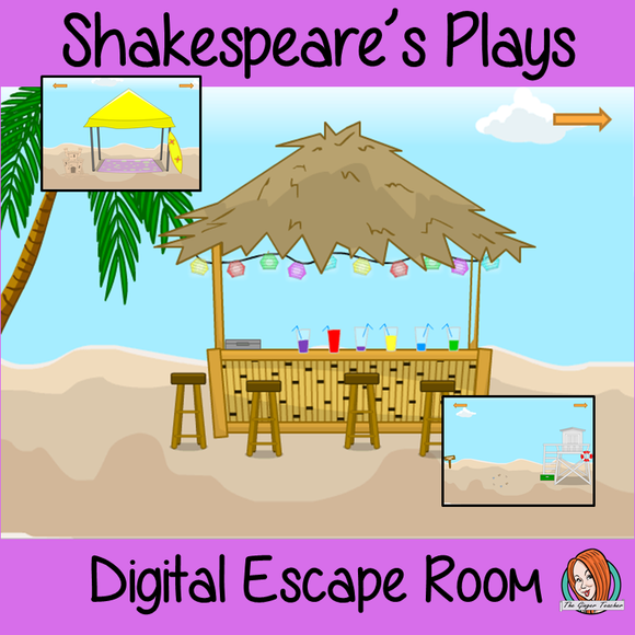 Shakespeare's Plays Escape Room