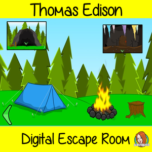 Thomas Edison Escape Room
