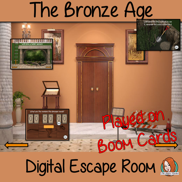 The Bronze Age Escape Room Boom Cards