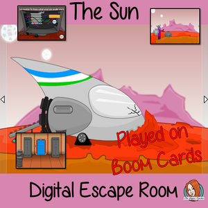 The Sun Science Escape Room Boom Cards