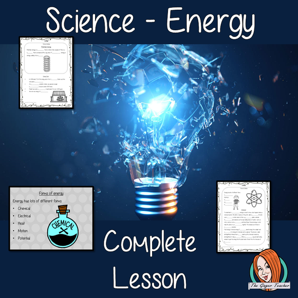 Energy Science Lesson
