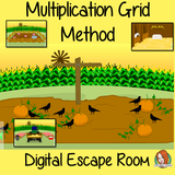 Multiplication Using Grid Method Escape Room