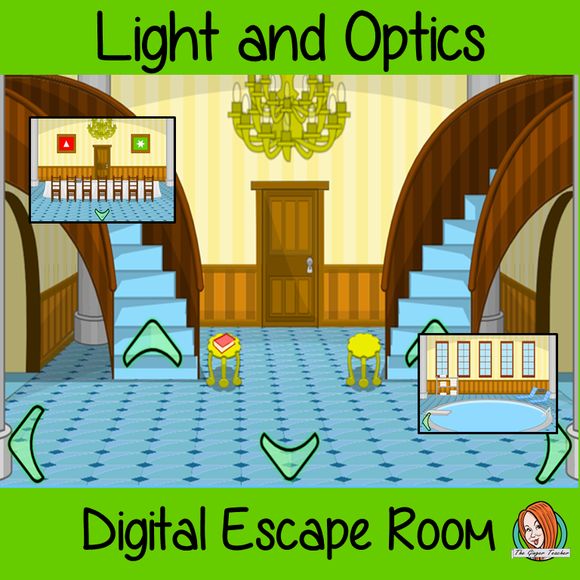 Light and Optics Science Escape Room