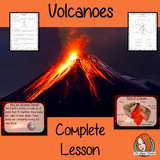 Volcanoes PowerPoint and Worksheets teaches children about the volcanoes in one complete lesson. Learn all about this natural disaster. 38 slide PowerPoint on what volcanoes are, how they are formed, the types of volcanoes, where they are, how they erupt and a look at the different parts of a volcano. There are also differentiated 9 page, volcano worksheets to allow students to demonstrate their understanding. This pack is great for teaching kids all about volcanoes as a natural disaster.