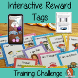 Interactive Reward Tags Training Challenge This 5 day challenge teaches you step by step how to create your own interactive, augmented reality reward tags.There are challenges to complete every day leading up to a complete set of finished tags. Each day also has a video where I explain in more detail the day's challenge 5 days of email training 4 printable worksheets 2 editable reward tags 4 example rewards 5 training videos #augmentedreality #bragtags #rewardtag #awardtags