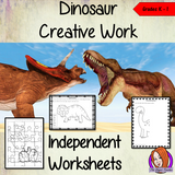 Dinosaur Themed Independent Creative Work