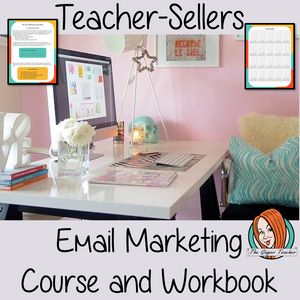 Teacher-Sellers Complete Course on Email Marketing complete course workbook on email marketing all the way through to a/b testing and selling with your list course book has 9 sections over 53 pages moves your marketing forward and develops your relationships with your customers Making your lead magnet Setting up your landing page Drive people to your opt in segment your list Plan your schedule Organize our emails Using data #teachersellers #tptemailmarketing #tptmarketing