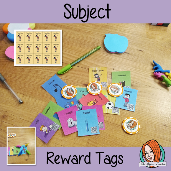 Subject Reward Tags Give you class something to brag about! These reward tags can be printed and used in your classroom for behaviour management and rewards for learning their times tables. If you want to promote good behavior of students brag tags are the way to go! Reward tags are perfect for behaviour management in primary school This is a whole class behaviour management system which promotes good behaviour in class #bragtags #rewardtag #awardtags