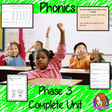 Phonics  Phase 3 Complete Unit of Lessons this download includes three weeks of phonics lessons for phase 3. Fifteen full lessons each with PowerPoints, lesson structure and workbook pages. Tricky sight words and high frequency words are practiced alongside the sounds and sound words. Audio is included in the PowerPoints to allow children to practice writing. Each lesson has silly sentences to make the learning fun. #teaching #phonics #reading #phase3 #jollyphonics #phonicslessons #lessons