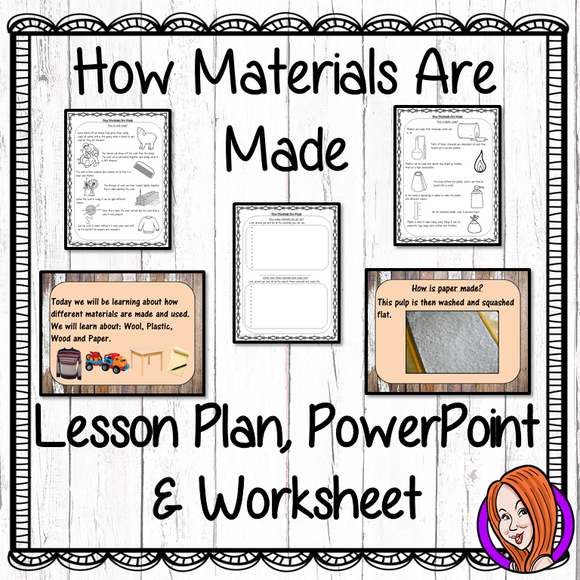 How Materials are Made  -  Complete Lesson