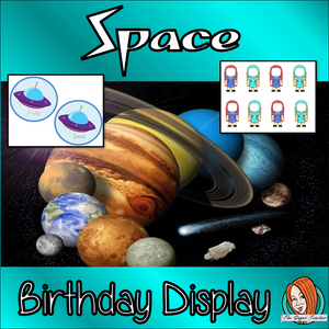 Outer Space Classroom Theme Birthday Display Fun outer spaced classroom décor birthday display pack This download includes an outer space class decor themed birthday display for your classroom. These are great for teachers and kids to have a fun outer spaced classroom and celebrate everyone's birthday. This download includes: - 12 spaceship months - Editable name cards  - Class birthday banner - Instructions #classroomthemes #teachingideas #outerspaceclassroom