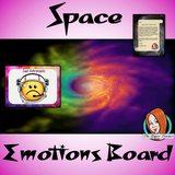 Outer Space Themed Emotion Boards Outer Space Themed Happy – Sad Emotion Boards This download includes fun space themed emption boards with editable astronaut names. These are great to complete your space themed classroom.  This download includes: - Happy and Sad board  - Editable astronaut  names - Full instructions #classroomthemes #teachingideas #spaceclassroom