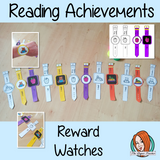 Reading Achievement Reward Watches Give you class something to brag about!  These reward watches can be printed and used in your classroom to reward reading. They are great to give out to the children to create a fun classroom environment. There are 4 different designs of each watch, 2 round faces and 2 square, smart-watch designs. This download includes 15 different reward watches #bragtags #rewardtag #awardtags #backtoschool