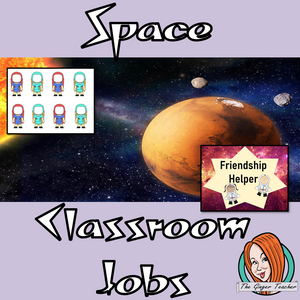 Outer Space Classroom Jobs Display  This download includes a fun outer space themed classroom jobs display for your classroom. These are great for teachers and kids to have a space themed room and give children responsibility in their classrooms.  This download includes: - Jobs display banner - Editable pirate names  - Instructions for all  - 18 classroom job posters #classroomthemes #teachingideas #spaceclassroom #outerspace
