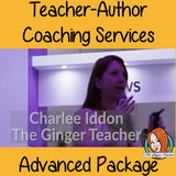 Teacher Author Advanced Coaching Package I have been coaching sellers for just over a year and I am now opening up my coaching services to a limited number of new clients for this year. I can advise on: Store and site design, product creation, Selling platforms, social media marketing, blogging, use of email lists, business growth and much more. #teacherauthors #teachingresources #resources #selling #sellingonline #teachers #tpt #teacherspayteachers