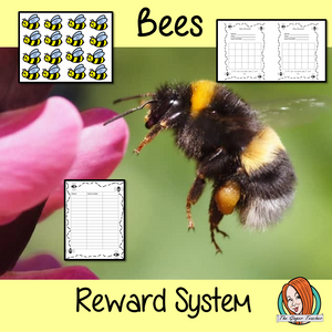 Classroom Management Reward System 'Bee Themed'