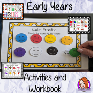 Early Years Workbook And Activities For Eyfs Kindergarten And Pre K