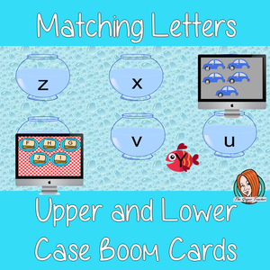 Pre-K Alphabet Matching Boom Cards Match the upper and lower case letters in this fun Boom cards activity. Self grading No printing required This game uses Boom Cards and you will need a Boom card account to play it which is free