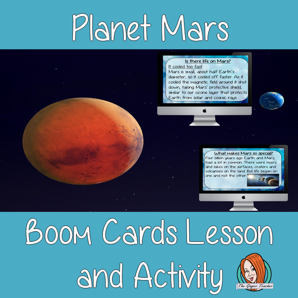 Mars - Boom Cards Digital Lesson