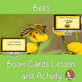 Bees - Boom Cards Digital Lesson