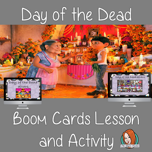 Day of the Dead - Boom Cards Digital Lesson