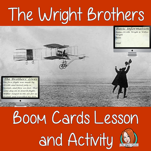 The Wright Brothers - Boom Cards Digital Lesson