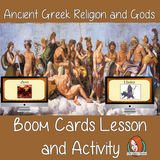 Ancient Greeks Religion and Gods - Boom Cards Digital Lesson