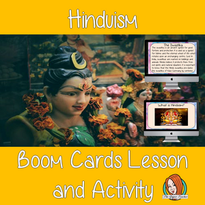 Hinduism - Boom Cards Digital Lesson