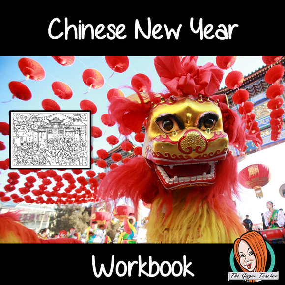 Chinese New Year Fun Interactive Workbook