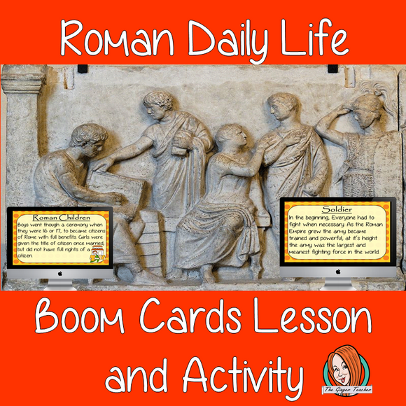 Roman Daily Life - Boom Cards Digital Lesson