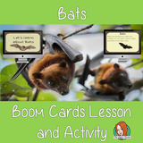 Bats - Boom Cards Digital Lesson