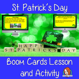 St. Patrick's Day - Boom Cards Digital Lesson