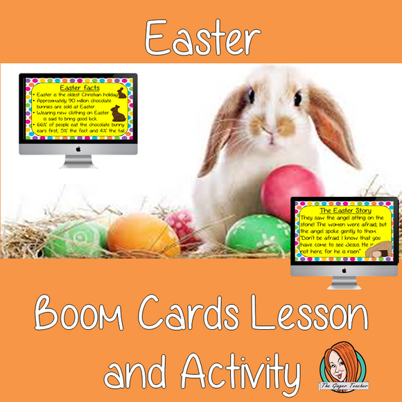 Easter - Boom Cards Digital Lesson