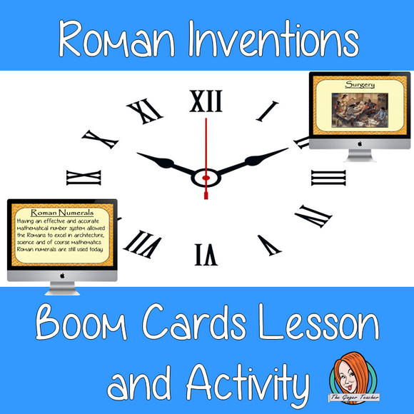 Roman Inventions - Boom Cards Digital Lesson