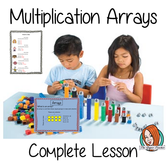Arrays Maths Lesson