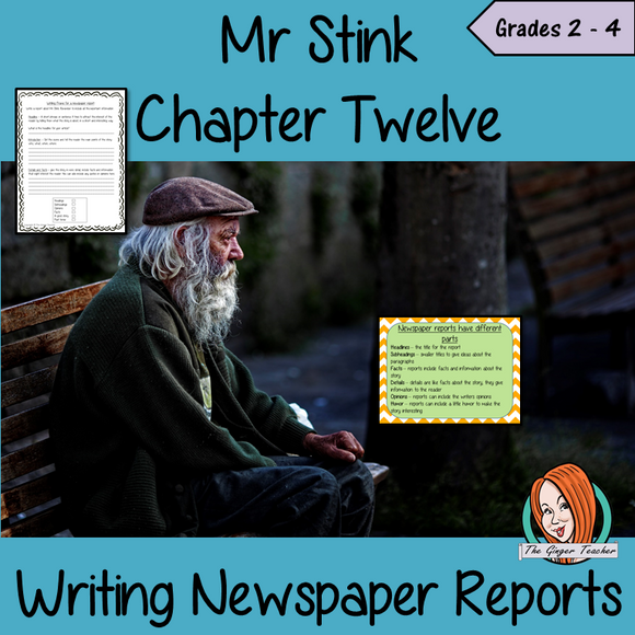 Newspaper Reports  – Mr Stink