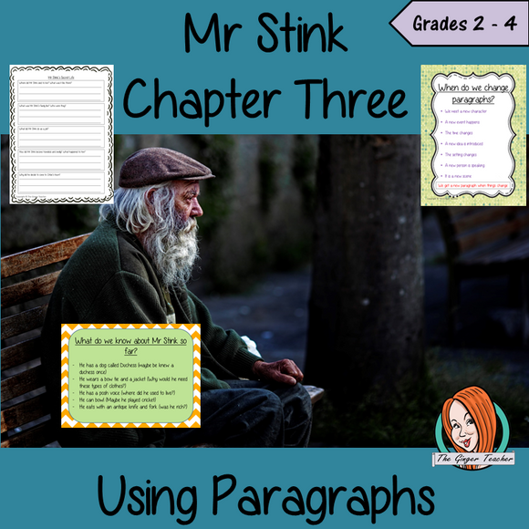 Using Paragraphs  – Mr Stink
