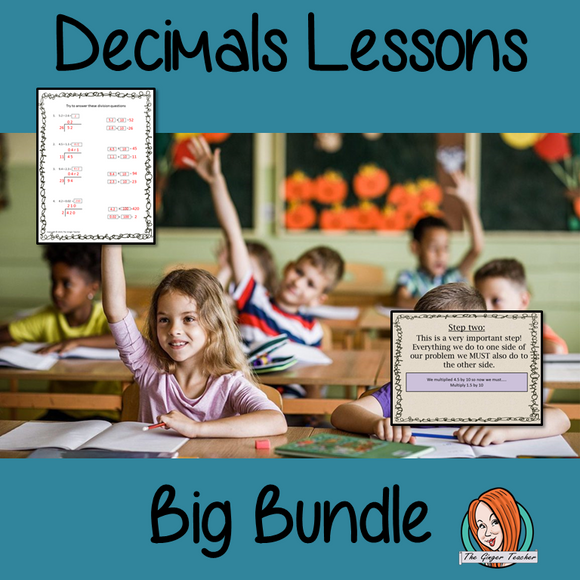 Decimals Lessons Bundle