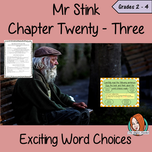 Making Exciting Word Choices; Complete Lesson – Mr Stink