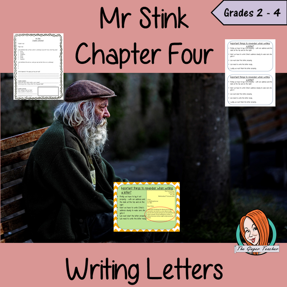 Letter Writing  – Mr Stink