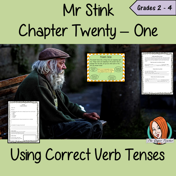 Using Verb Tenses; Complete Lesson  – Mr Stink