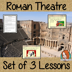 Three Complete Lessons on Roman Theatre