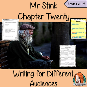 Complete Lesson on Writing for Different Audiences  -  Related to Mr Stink by David Walliams