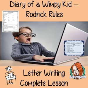 Letter Writing – Diary of a Wimpy Kid
