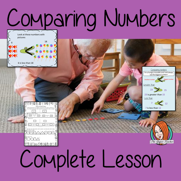 Complete Lesson on Comparing and Ordering Numbers
