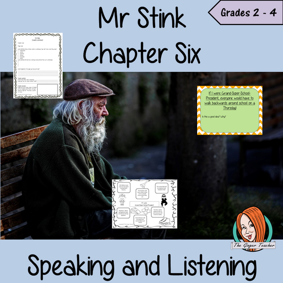 Speaking and Listening  – Mr Stink