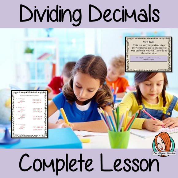 Dividing Decimals Complete Lesson