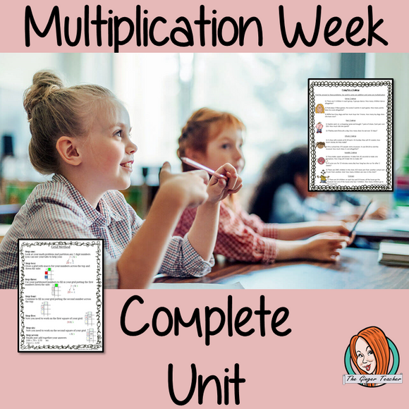 Multiplication Complete Week Unit